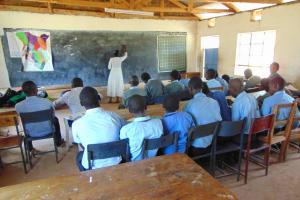 The Water Project: Chebunaywa Secondary School -  Training