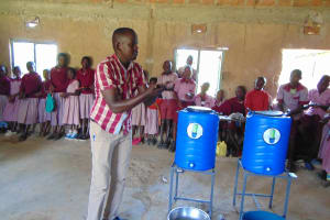 The Water Project: Ivumbu Primary School -  Handwashing Demonstration For Everyone
