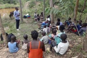 The Water Project: Mukoko Community, Mshimuli Spring -  Training