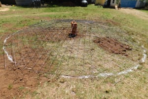 The Water Project: Koitabut Secondary School -  Starting On The Tank Dome