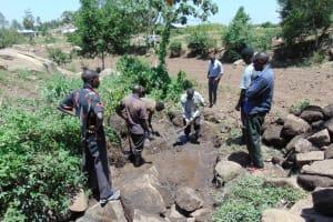 The Water Project: Imbinga Community, Arunga Spring -  Excavation