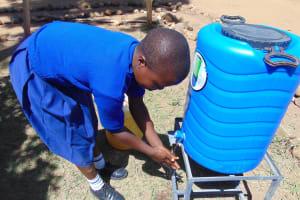 The Water Project: Musango Primary School -  Handwashing Station