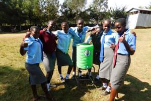 The Water Project: Koitabut Secondary School -  Handwashing Station