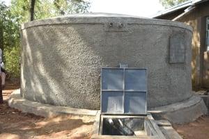 The Water Project: Ichinga Muslim Primary School -  Tank Construction