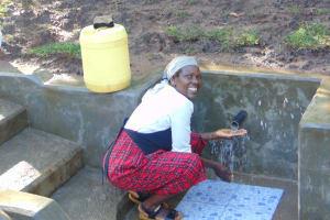 The Water Project: Bukhakunga Community, Mukomari Spring -  Flowing Water