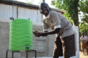 The Water Project: Ichinga Muslim Primary School -  Handwashing Station