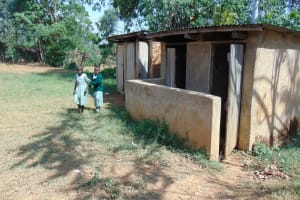 The Water Project: Lwanga Itulubini Primary School -  Latrines
