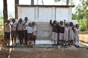 The Water Project: Ichinga Muslim Primary School -  New Latrines