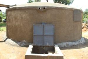 The Water Project: Ivumbu Primary School -  Flowing Water