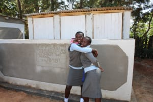 The Water Project: Koitabut Secondary School -  Finished Latrines
