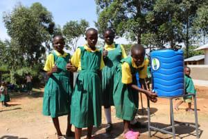 The Water Project: Koitabut Primary School -  New Handwashing Station