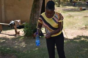 The Water Project: Emukoyani Community, Ombalasi Spring -  Dental Hygiene Training