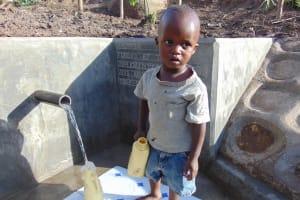 The Water Project: Imbinga Community, Arunga Spring -  Flowing Water