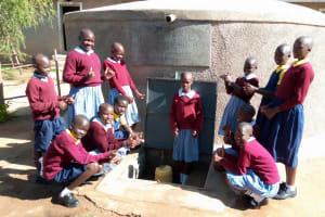 The Water Project:  Celebrating Water In The Tank
