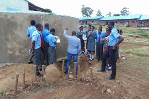 The Water Project: Chebunaywa Secondary School -  Tank Care Training
