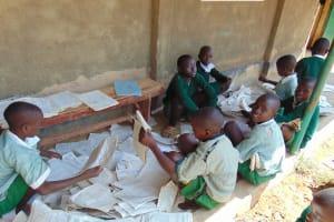 The Water Project: Lwanga Itulubini Primary School -  Students Studying