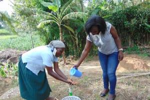 The Water Project: Bukhakunga Community, Mukomari Spring -  Handwashing Training