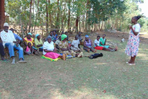 The Water Project: Sambuli Community, Nechesa Spring -  Training