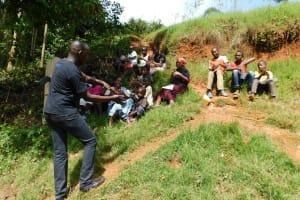 The Water Project: Mukhunya Community, Mwore Spring -  Handwashing Training