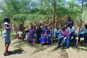 The Water Project: Kambiri Community, Sachita Spring -  Training