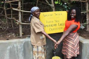 The Water Project: Kambiri Community, Sachita Spring -  Thank You