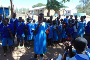 The Water Project: Lwakhupa Primary School -  Dental Hygiene Training