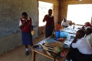The Water Project: Lwakhupa Mixed Secondary School -  Toothbrushing Training