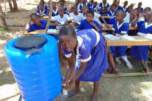 The Water Project: Musango Primary School -  Handwashing Training