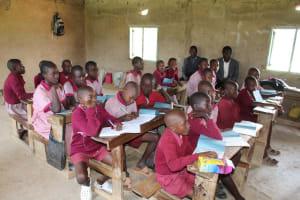 The Water Project: Ivumbu Primary School -  Training