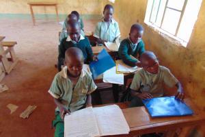 The Water Project: Lwanga Itulubini Primary School -  Students In Class