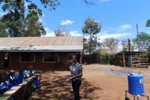 The Water Project: Sango Primary School -  Dental Hygiene Training