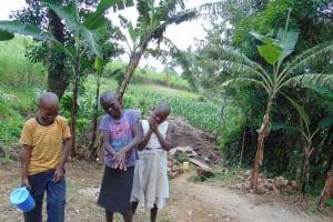 The Water Project: Bukhakunga Community, Mukomari Spring -  Demonstrating Handwashing