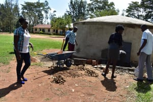 The Water Project: Mabanga Primary School -  Working Together
