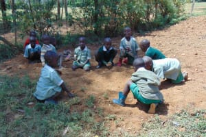The Water Project: Lwanga Itulubini Primary School -  Students Playing At School