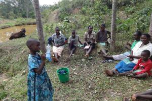 The Water Project: Mukoko Community, Mshimuli Spring -  Dental Hygiene Training