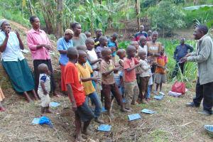 The Water Project: Bukhakunga Community, Mukomari Spring -  Training