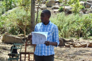 The Water Project: Imbinga Community, Arunga Spring -  Training