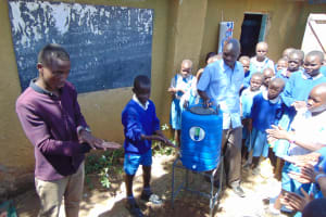 The Water Project: Lwakhupa Primary School -  Handwashing Training