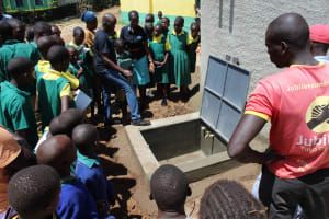 The Water Project: Koitabut Primary School -  Tank Care Training
