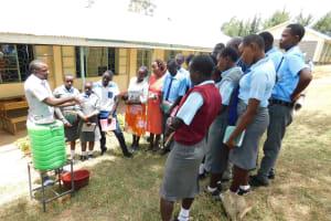 The Water Project: Koitabut Secondary School -  Handwashing Training