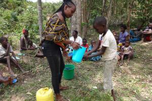 The Water Project: Mukoko Community, Mshimuli Spring -  Handwashing Training