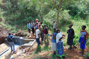 The Water Project: Ibinzo Community, Lucia Spring -  Spring Care Training