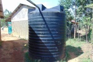 The Water Project: Lwanga Itulubini Primary School -  Plastic Tank