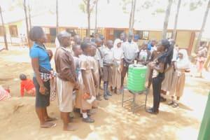 The Water Project: Ichinga Muslim Primary School -  Handwashing Training