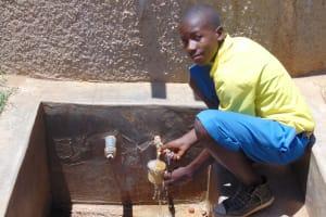 The Water Project: Chebunaywa Primary School -  Clinton Kibisu