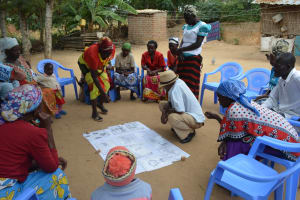 The Water Project: Mbau Community B -  People At Day Of The Training