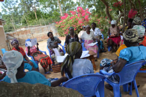 The Water Project: Mbau Community B -  Training Participants On The First Day