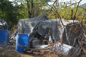 The Water Project: Ndithi Community -  Cement Bags For Well And Dam