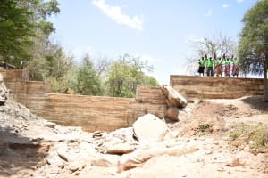 The Water Project: Ndithi Community -  Completed Dam