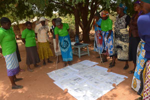 The Water Project: Ndithi Community A -  Learning How To Improve Sanitation And Hygiene Practices